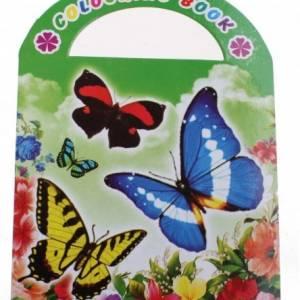 LG Imports kleurboek vlinders 9 cm