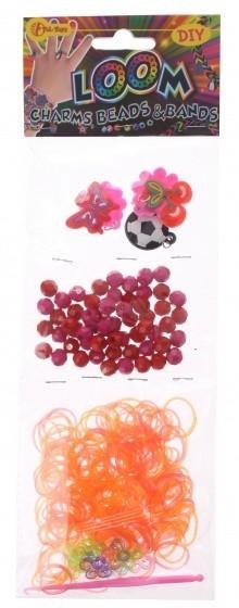 Toi Toys Loom armband maken meisjes paars/rood 360 delig
