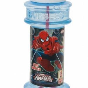Marvel bellenblaas Spider Man 120 ml oranje