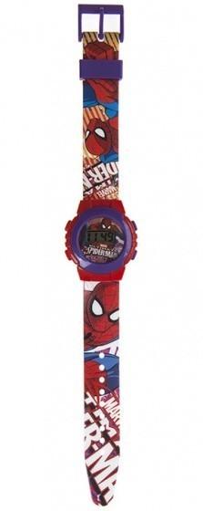 Marvel digitaal horloge Spider Man rood/paars