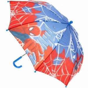 Marvel paraplu Spider Man 70 cm blauw/rood