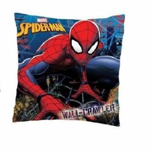 Marvel Spider Man kussen 35 x 35 cm blauw