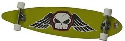 No Fear Longboard 112 x 26 cm groen