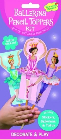 Peaceable Kingdom Sticker Kit Ballerina's Potloodtopper