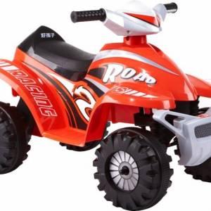 Rollplay accuvoertuig ATV mini quad 6V rood