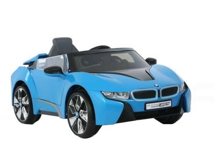 Rollplay BMW i8 Spyder accuvoertuig 6 Volt blauw