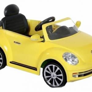 Rollplay Volkswagen Beetle accuvoertuig 6 Volt geel