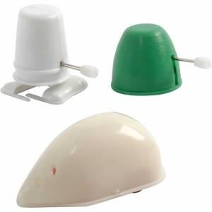 Silk Clay Moving Parts met opwindfunctie groen/wit 3 stuks