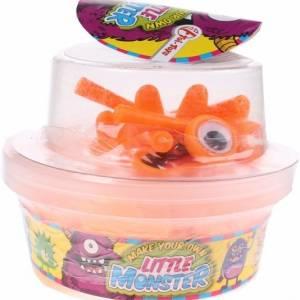 Toi Toys monster box klei oranje 9 delig