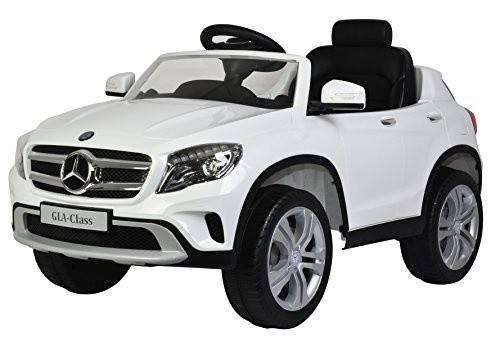 Toyrific accuvoertuig Mercedes GLA Class 12V wit 120x70x60 cm