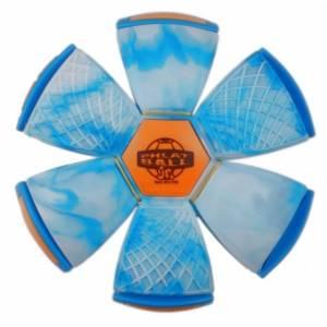 Wahu Phlat Ball Swirl blauw 22 cm