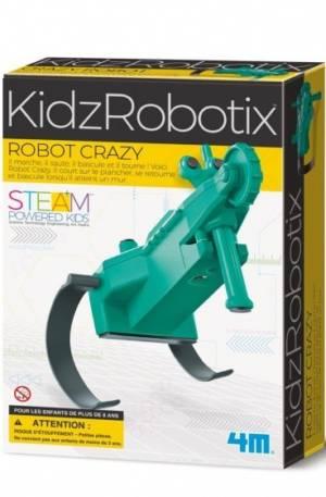 4M gekke robot groen/zwart junior (Franstalig)