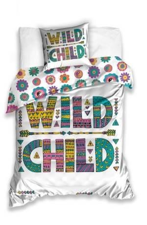 Carbotex dekbedovertrek Wild Child 140 x 200 cm multicolor