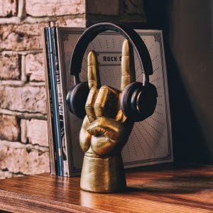 Hét perfecte Cadeau -  Koptelefoonhouder Rock On