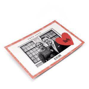 Hét perfecte Cadeau -  Liefde ansichtkaart met foto