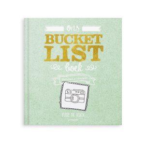 Hét perfecte Cadeau -  Het Bucketlist boek voor vrienden met namen en foto's (Softcover)