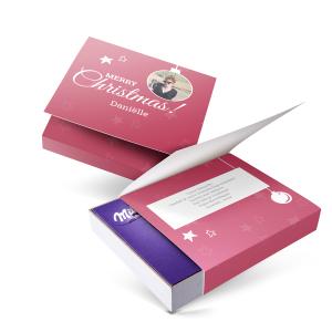 Hét perfecte Cadeau -  Milka giftbox bedrukken – Kerst – 220 gram