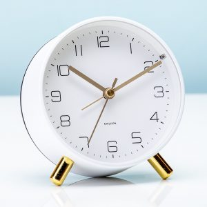 Hét perfecte Cadeau -  Wekker Lofty – Wit
