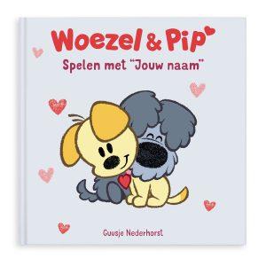 Hét perfecte Cadeau -  Boek met naam en foto – Woezel & Pip – Spelen met jou (Softcover)