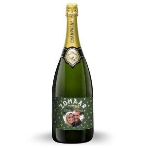 Hét perfecte Cadeau -  Champagne met bedrukt etiket – René Schloesser Magnum (1500ml)