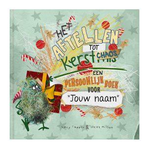 Hét perfecte Cadeau -  Kerstchaos doeboek met naam en foto – Aftellen tot Kerst (Softcover)