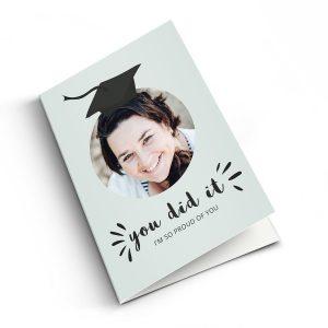 Hét perfecte Cadeau -  Geslaagd fotokaart maken – XL – Staand