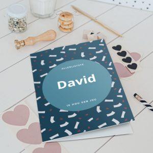 Hét perfecte Cadeau -  Valentijnskaart – XL – Staand