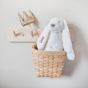 Hét perfecte Cadeau -  Happy Horse konijn Richie met naam – ivoor