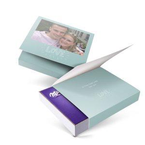 Hét perfecte Cadeau -  Milka giftbox bedrukken – Liefde – 220 gram