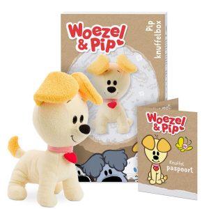 Hét perfecte Cadeau -  Persoonlijke Woezel & Pip knuffelbox – Pip