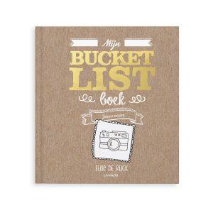 Hét perfecte Cadeau -  Mijn Bucketlist boek met naam en foto (Hardcover)
