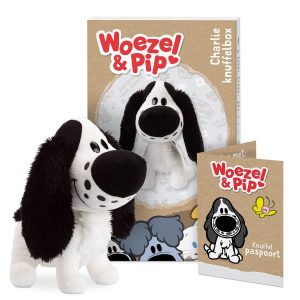 Hét perfecte Cadeau -  Persoonlijke Woezel & Pip knuffelbox – Charlie