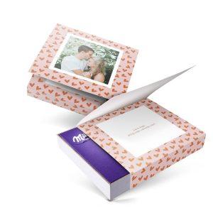Hét perfecte Cadeau -  Milka giftbox bedrukken – Valentijn – 220 gram