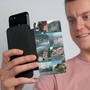 Hét perfecte Cadeau -  Flip telefoonhoesje met foto – M