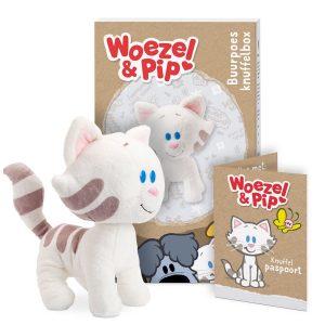Hét perfecte Cadeau -  Persoonlijke Woezel & Pip knuffelbox – Buurpoes