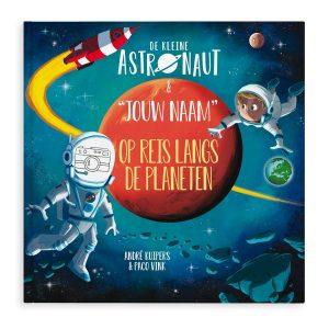 Hét perfecte Cadeau -  Boek met naam en foto – De kleine astronaut en naam – Hardcover