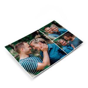 Hét perfecte Cadeau -  Ansichtkaart met foto
