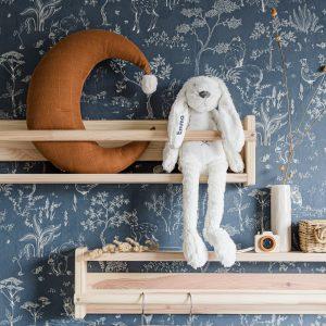 Hét perfecte Cadeau -  Happy Horse konijn met naam – ivoor