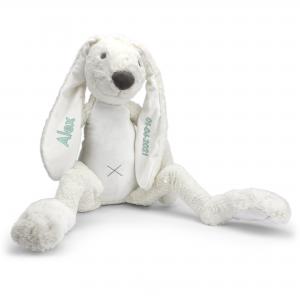 Hét perfecte Cadeau -  Happy Horse Richie met naam XL – ivoor