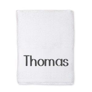 Hét perfecte Cadeau -  Handdoek borduren – Wit