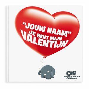 Hét perfecte Cadeau -  Ollimania – Je bent mijn Valentijn/Liefste – XXL versie met naam en foto