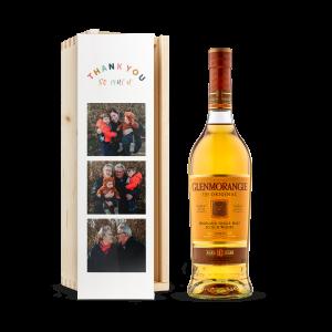 Hét perfecte Cadeau -  Whisky in bedrukte kist – Glenmorangie