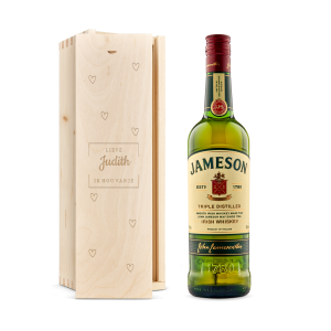 Hét perfecte Cadeau -  Whiskey in gegraveerde kist – Jameson