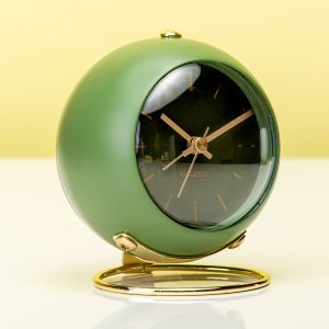 Hét perfecte Cadeau -  Globe Wekker – Groen