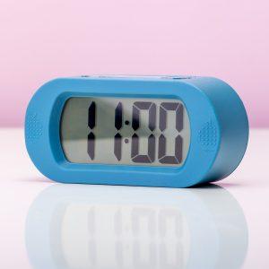 Hét perfecte Cadeau -  Digitale Wekker Gummy – Blauw