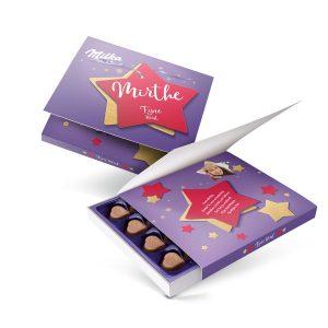 Hét perfecte Cadeau -  Say it with Milka giftbox bedrukken – Kerst – 110 gram