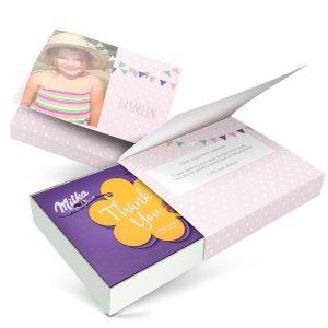 Hét perfecte Cadeau -  Milka giftbox bedrukken – Verjaardag – 220 gram