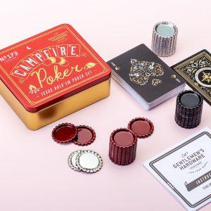 Hét perfecte Cadeau -  Kampvuur Poker