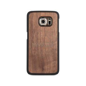Hét perfecte Cadeau -  Houten telefoonhoesje graveren – Samsung Galaxy s6 edge