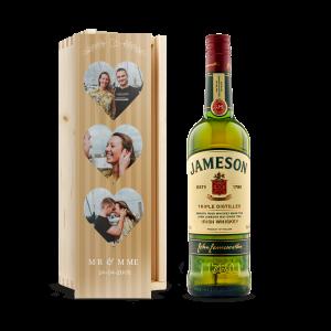 Hét perfecte Cadeau -  Whiskey in bedrukte kist – Jameson